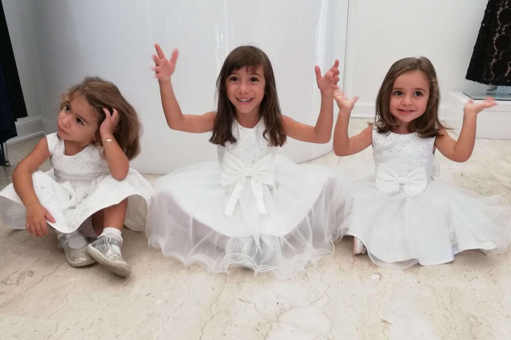 abito damigelle bambine cerimonia charme galatina