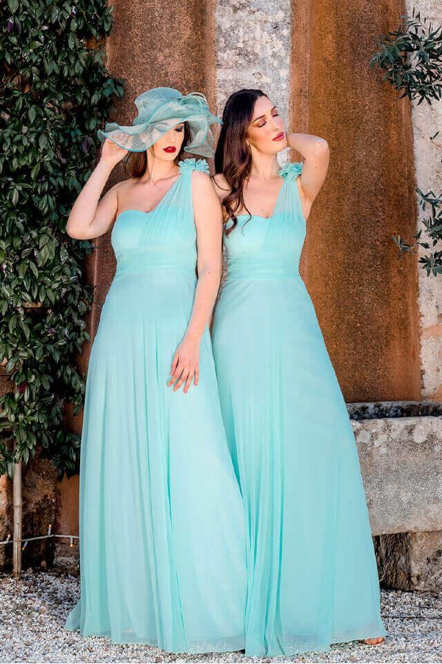 abbigliamento damigelle d'onore donne charme canaris salento lecce galatina