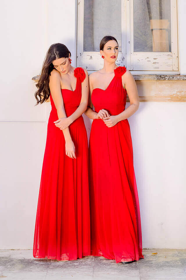 abiti donne charme canaris damigelle d'onore galatina lecce salento