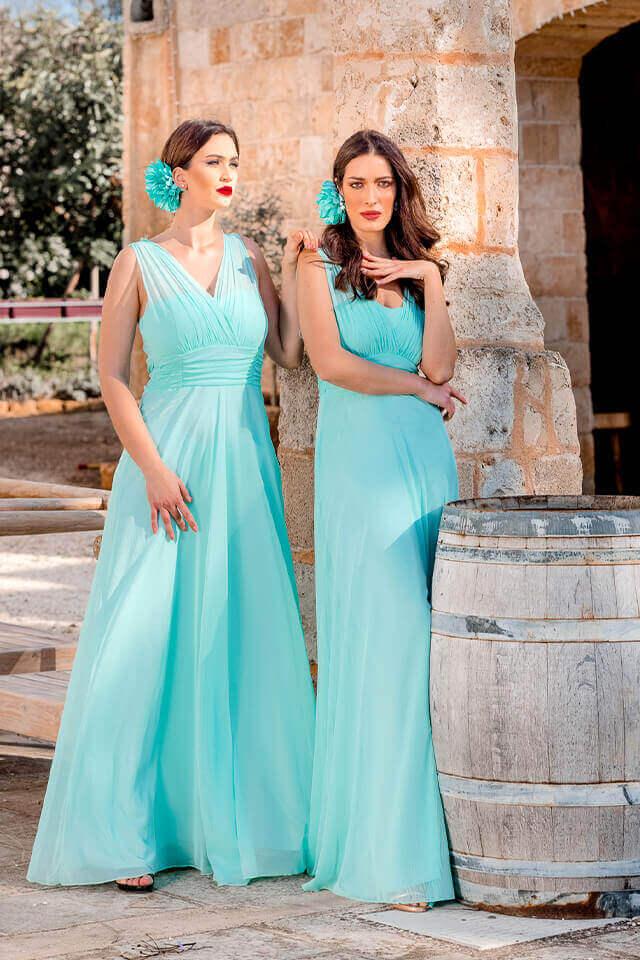 charme canaris abito donne damigelle d'onore salento galatina lecce