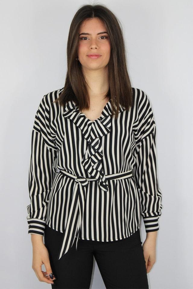 blusa-a-righe-salento-bianco-nero-charme-canaris-stile-casual-lecce-galatina