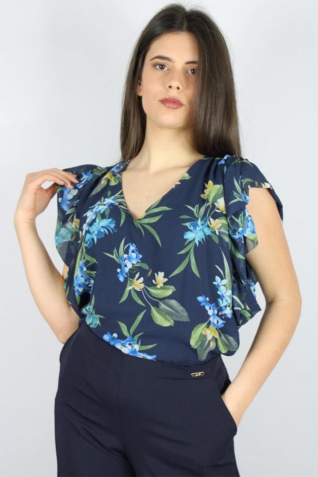 blusa-fiori-floreale-charme-canaris-donna-salento-galatina-lecce-stile-casual-lecce