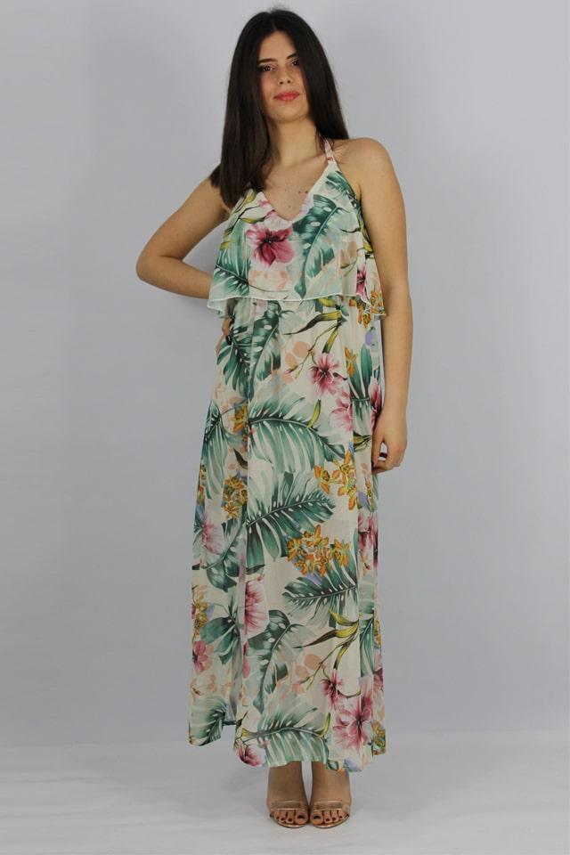 donna-abito-salento-fiori-lecce-galatina-charme-canaris-stile-casual