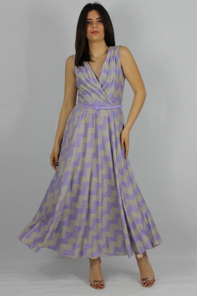 donna-stile-casual-charme-canaris-abito-zig-zag-rosa-salento-galatina-lecce-vestito
