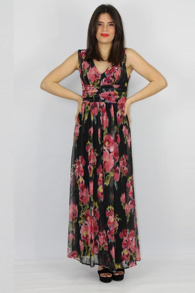 fiori-abito-stile-casual-lecce-galatina-salento-donna-rosso-nero-charme-canaris