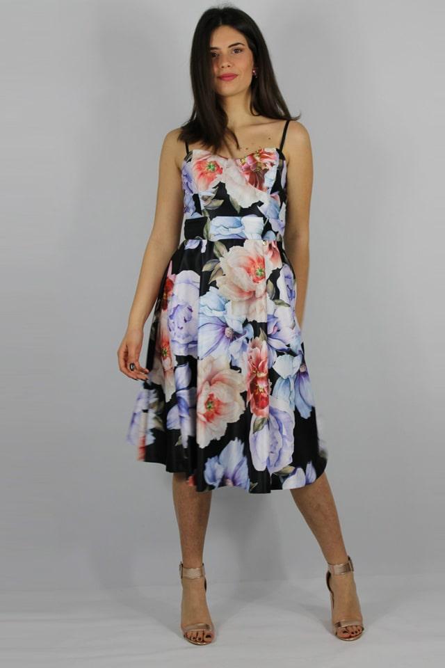 lecce-salento-abito-fiori-donne-vestito-completo-elegante-charme-canaris-casual-stile-galatina